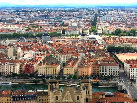 Cidade de Lyon, França